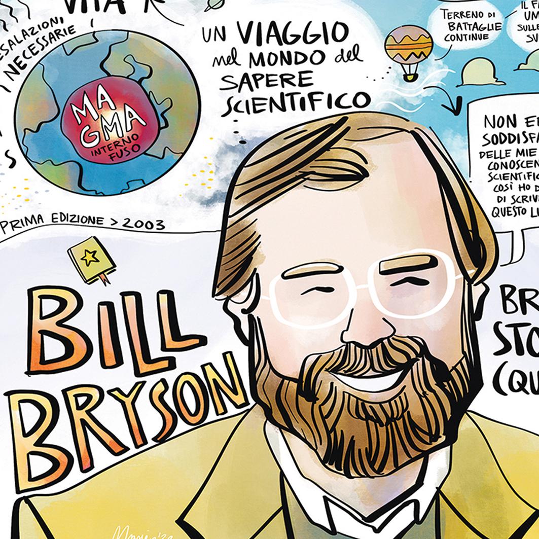 """""""Breve storia di (quasi) tutto"""" di Bill Bryson"""