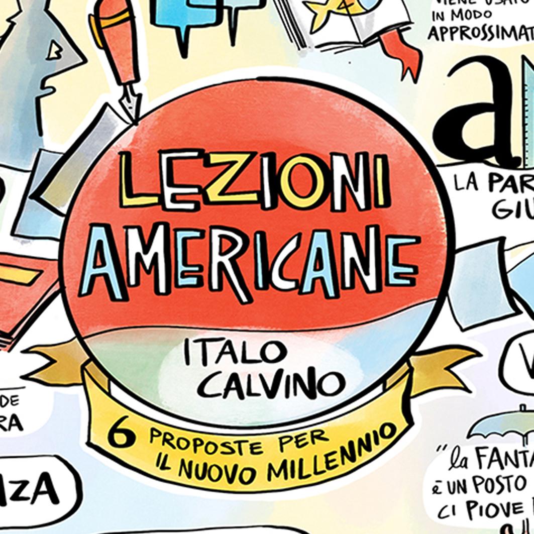 """""""Lezioni Americane"""" di Italo Calvino"""