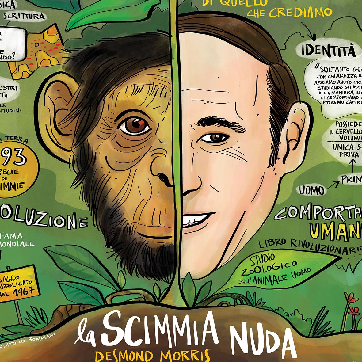 """""""La Scimmia Nuda"""" di Desmond Morris"""
